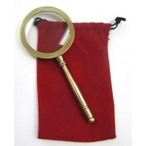 Magnifying Glass w/pouch